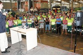 Emaya bajará la tasa de recogida de basura un 4 % a los palmesanos en 2014
