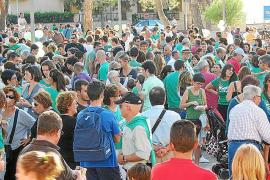 La huelga en educación entra en su segunda semana pendiente del TSJB