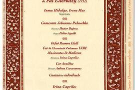 Harmonia celestis, un recital de voces celestiales en Palma