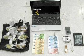 La Guardia Civil arresta a tres jóvenes por una oleada de robos en la zona de Llevant