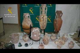 Desarticulada en Catalunya y Balears una red que expoliaba restos arqueológicos