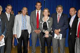 Entrega de los premios anuales de la. Cámara de Comercio de Mallorca