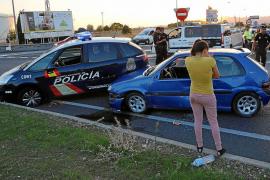 Detienen a dos menores tras protagonizar una persecución por las calles de Palma