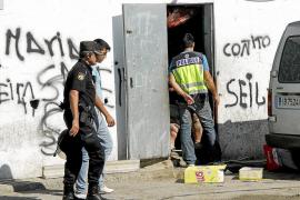 Redada contra varios puntos de venta de droga del clan de 'La Burra' en Son Banya y La Soledat