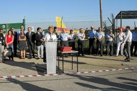 Emotivo homenaje a los pilotos que sofocaron los incendios de la Serra de Tramuntana