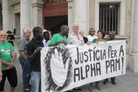 Varias entidades se manifiestan para exigir justicia en el caso Alpha Pam