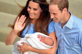 El príncipe Jorge de Cambridge será bautizado el 23 de octubre