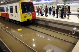 Vicens admite que el metro siempre tendrá puntos débiles cuando llueva