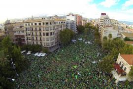 Manifestación contra el TIL