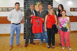 El RCD Mallorca, solidario con la Serra