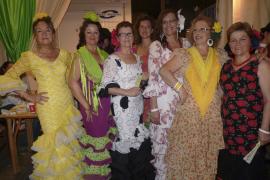 Concurrida Feria de Abril en Palma
