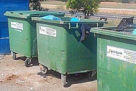 La capacidad de los contenedores de basura crecerá en 500.000 litros