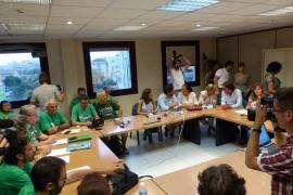 Concluye sin avances la sexta reunión entre el Govern y los docentes