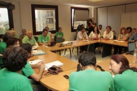 Finaliza la séptima reunión entre Conselleria y el comité de huelga sin acuerdo