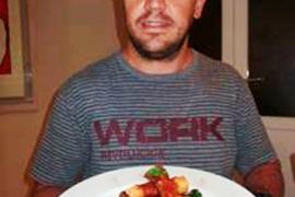 Manuel Duran, ganador del concurso de recetas