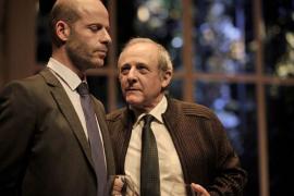 Los actores Emilio Gutiérrez Caba y Eduard Farelo
