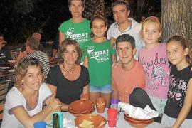 Cena en Can Arabi por las Festes des Vermar