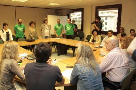 La reunión entre Educació y comités de huelga concluye antes de empezar