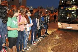 Escolares de Son Ferriol, sin plaza en el autobús escolar