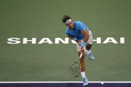 Rafa Nadal debuta en Shanghai con victoria sobre Dolgopolov