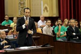 Bauzá descarta intervenir personalmente en las negociaciones sobre el TIL