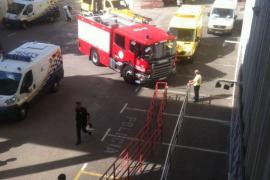 Una explosión en Son Moix deja tres heridos, dos de ellos muy graves