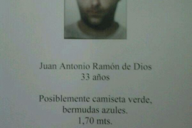 Desaparecido un hombre en Lloseta