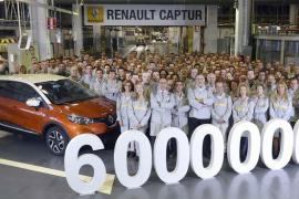 Un Captur, vehículo 6 millones de Valladolid