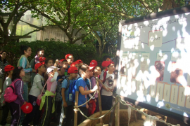 excursión a Natura Parc con el Grupo Serra