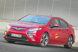 El Opel Ampera, con el Proyecto iZEUS