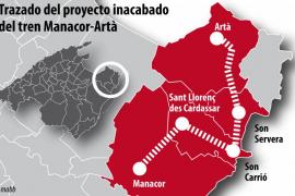 Company prevé que la vía verde entre Manacor y Artà esté lista antes del verano de 2014