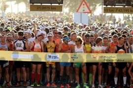 Más de 10.000 corredores participarán en la TUI maratón de Palma el próximo domingo