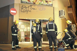 Detenido el dueño de una frutería de Palma por prenderle fuego para cobrar el seguro