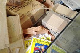 Publicaciones del Solleric, 'tiradas' en las antiguas cocheras de la EMT
