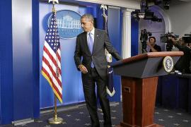 Obama: «El espectáculo de la crisis ha envalentonado a nuestros enemigos»