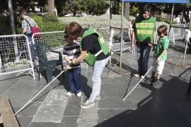 Animado Día de la Once en Palma