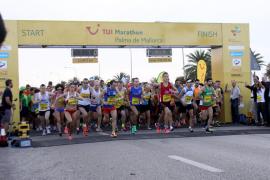 Más de 10.000 personas participan en el TUI Maratón