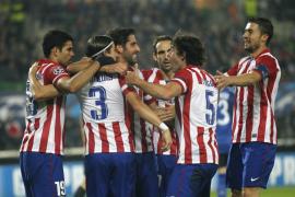 0-3. El Atlético de Madrid devora al Austria con un doblete de Diego Costa