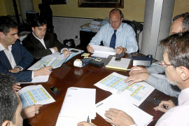 Calvo rechaza el pacto de estabilidad que le ofrece el PP en Cort