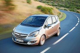 El Opel Meriva, con motores de nueva generación