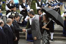 Los Príncipes se reencuentran con los asturianos en la víspera de los premios