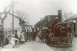 El tren cumple 135 años de su primera llegada a sa Pobla