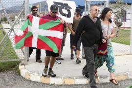 Sale de prisión de Botafuegos el etarra Juan Manuel Piriz López