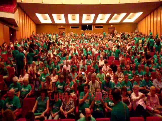 La música llena de verde el Auditòrium