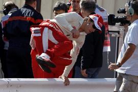 Fernando Alonso, mejor tiempo en la primera sesión libre