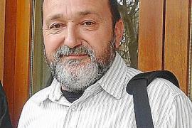 LOS CONCEJALES DEL PSM-IV- ENTESA MIQUEL OLIVER Y SEBASTIA GAIA, EN LA OFICINA COMARCAL