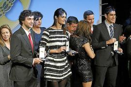Costa, Llull, Lorenzo y Crespí reciben la medalla al Mérito Deportivo