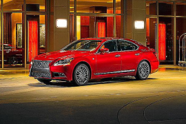 Lexus ofrece mejoras para la versión 2014 del LS 600h