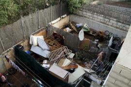 Destrozos en la zona de Santanyí por la tormenta