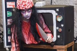 Lara Hinojosa Pérez concurso de disfraces de Halloween